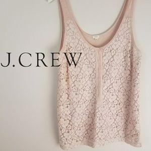J. Crew | Blush Nude Pink Tank [Tops]
